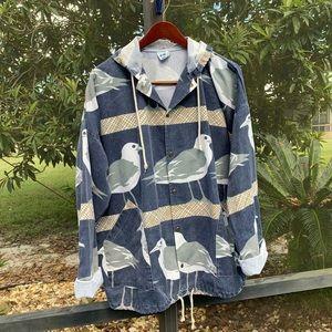 Michigan Rag Co Seagull Vintage Canvas Jacket